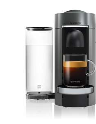 Cafetière à dosettes Nespresso Vertuo Plus Titane