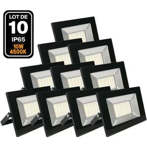 Lot de 10 Projecteur LED Ipad 10W