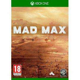 Mad Max sur Xbox One