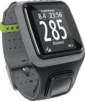 Montre GPS TomTom Runner HRM (avec ceinture cardio-fréquencemètre) gris foncé