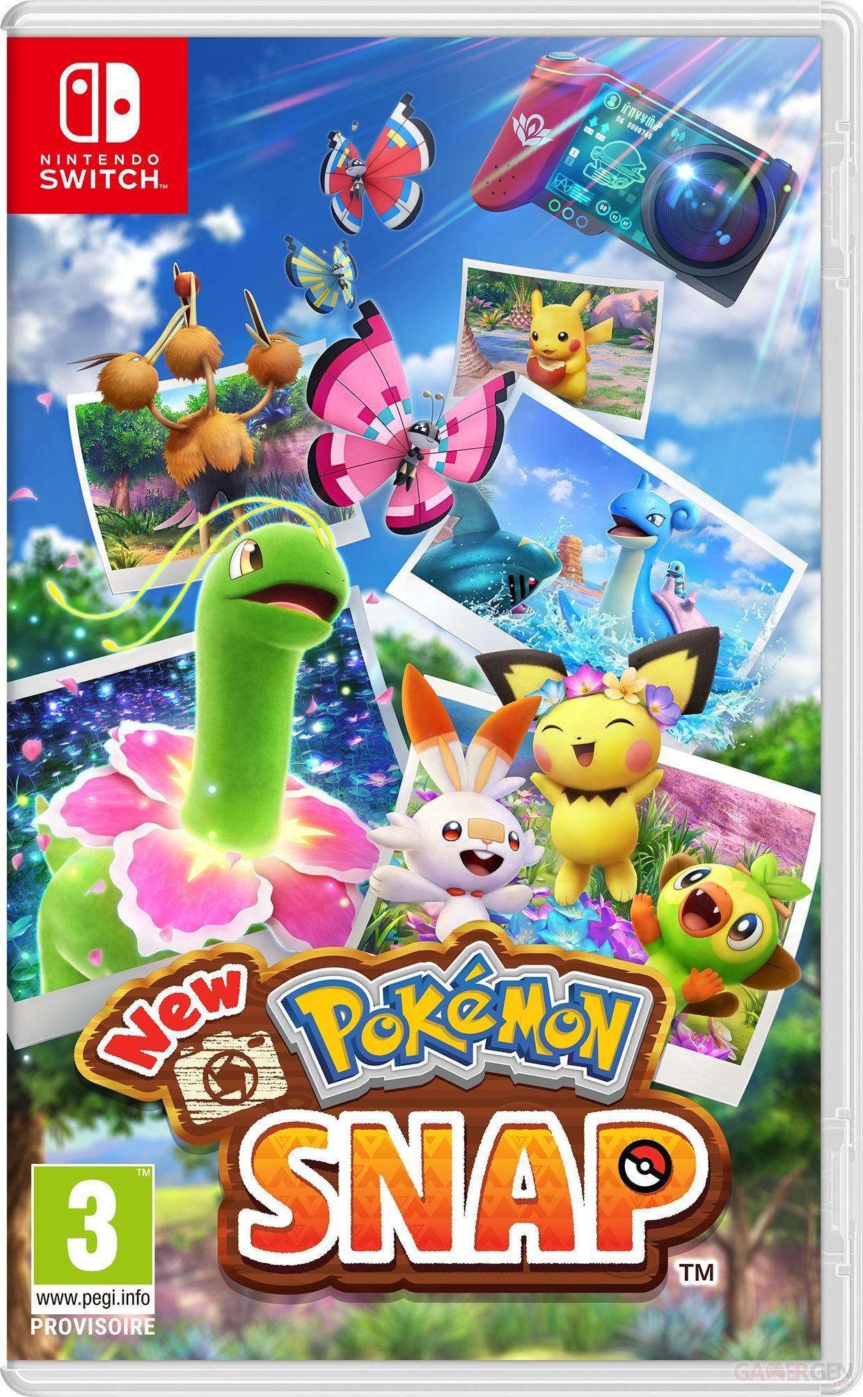 image produit [Précommande] New Pokémon Snap sur Nintendo Switch