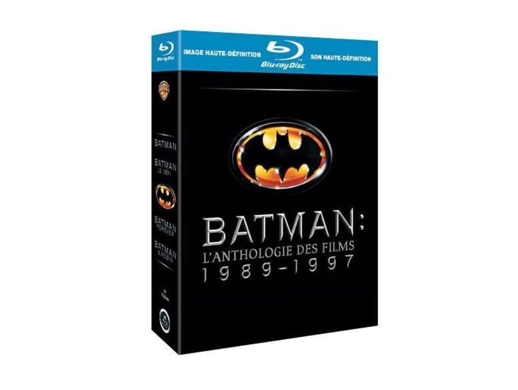 Sélection DC Comics en promotion - Ex : Coffret Blu-ray : Batman + Batman : Le Défi + Batman Forever + Batman et Robin