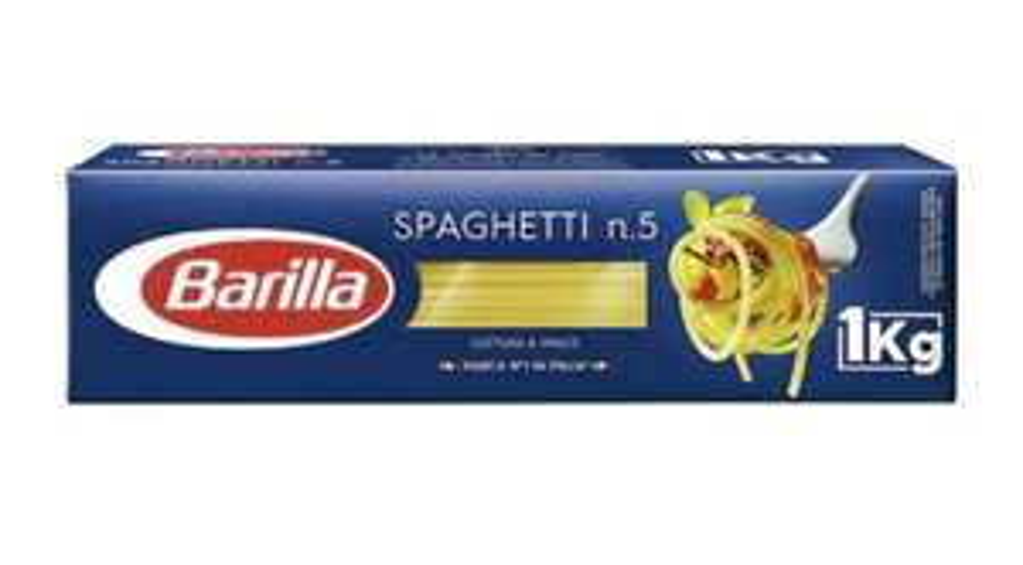 Lot de 3 paquets de 1kg de pâtes Barilla - 3x 1kg (Autres variétés disponibles)