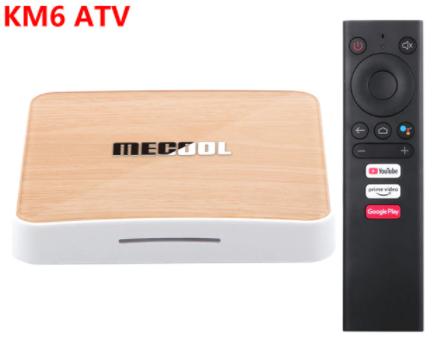 Box multimédia TV Mecool KM6 Deluxe - Amlogic S905X4, RAM 4 Go, ROM 64 Go, Android TV 10