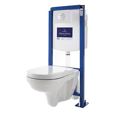 Pack WC Bâti support autoportant Villeroy & Boch Direct flush rimless - Paris Clichy (75)