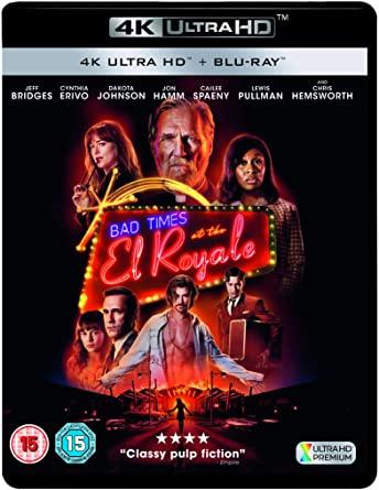 Blu-ray 4K UHD + Blu-ray Sale temps à l'hôtel El Royale