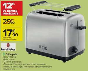 Grille-pain Russel Hobbs - 850W