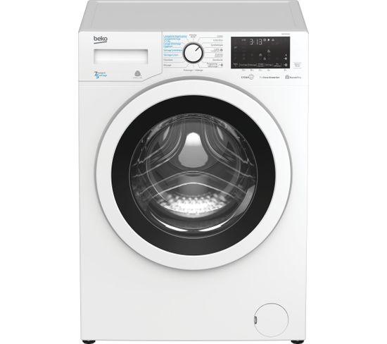Lave-linge à hublot séchant BEKO HWD7526WW - Blanc