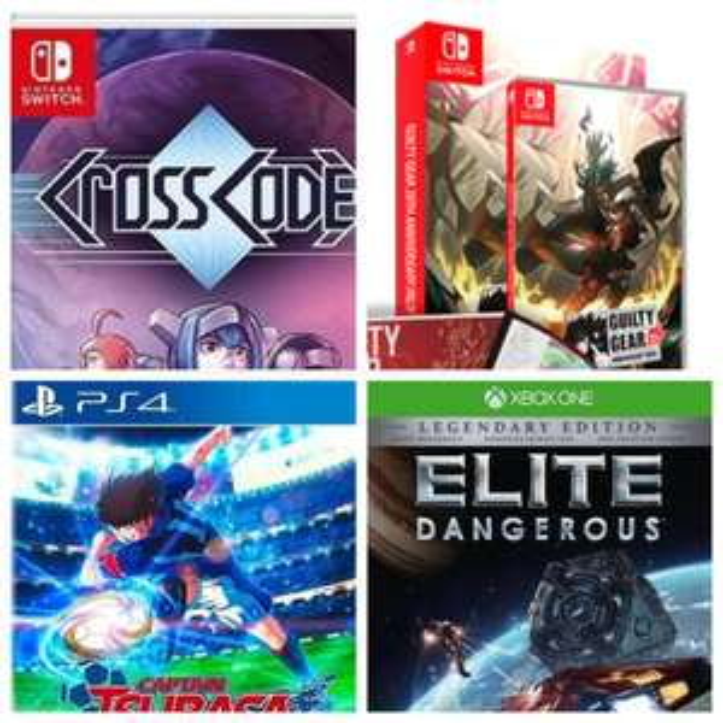 Sélection de jeux vidéo en promotion - Ex :CrossCode Switch à 14,99€, Captain Tsubasa PS4 à 29,99€