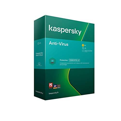 Suite Kaspersky Antivirus 2021 - 1 Poste / 1 An