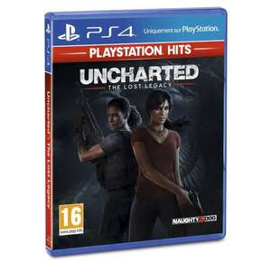Uncharted The Lost Legacy sur PS4