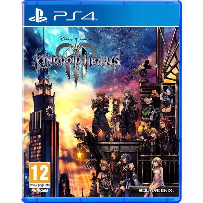 Sélection de jeux PlayStation Hits sur PS4 en promotion - Ex: Kingdom Hearts 3