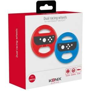Pack de 2 volants Konix pour Joy-con Switch