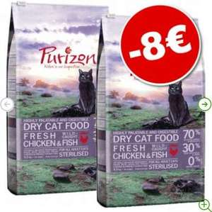 Lot de 2 Sacs de Croquettes pour Chat Purizon (2x 6.5kg)