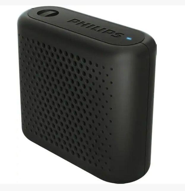 Enceinte Bluetooth Philips BT55B - Noir (Via 5.98€ sur la carte fidélité)
