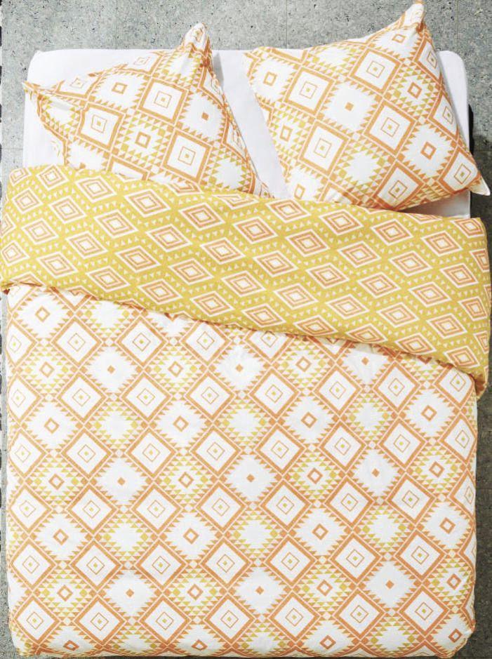Parure de lit - housse de couette (240x220cm, différents coloris) + 2 taies d'oreiller (via 7.2€ sur la carte de fidélité)