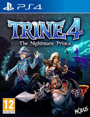 Trine 4: The Nightmare Prince sur PS4 (via retrait en magasin)