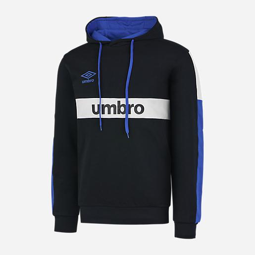 Sweat-shirt à capuche Umbro - noir/bleu (du S au XXL)