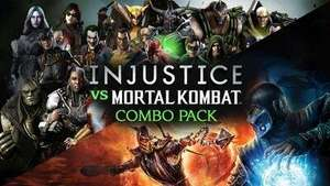 Pack Mortal Kombat : Komplete Edition + Injustice : Gods Among Us Ultimate Edition sur PC (Dématérialisés - Steam)
