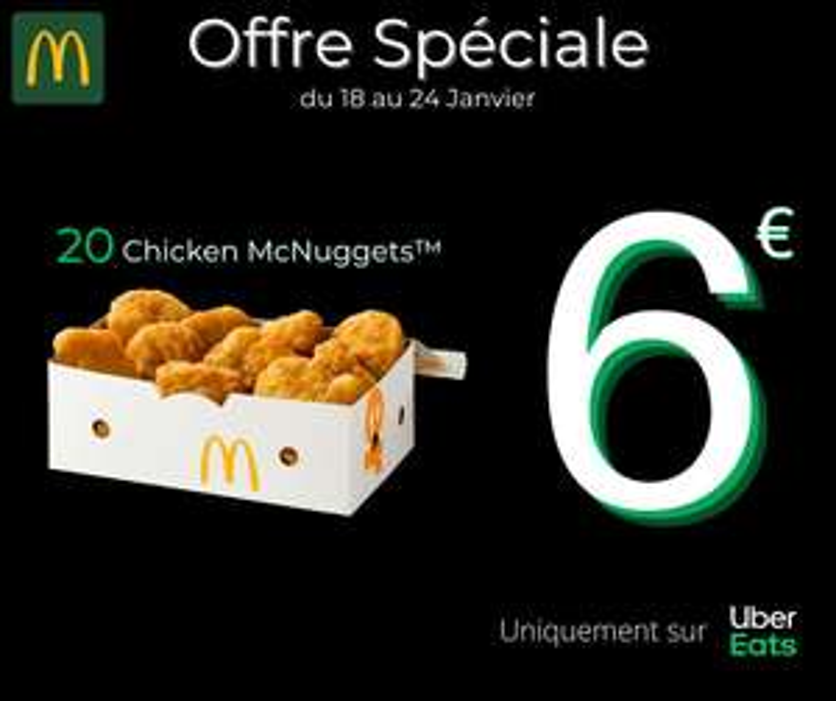 Boîte de 20 Chicken McNuggets - McDonald's Purpan Toulouse (31)