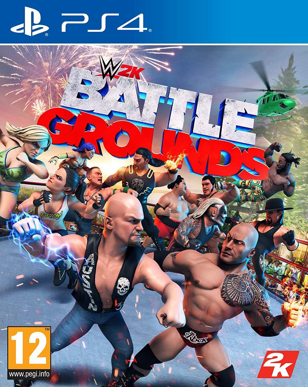 WWE 2K Battlegrounds sur PS4