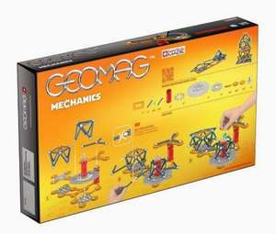 Jeu de Construction Geomag Mechanics 722 - 146 Pièces