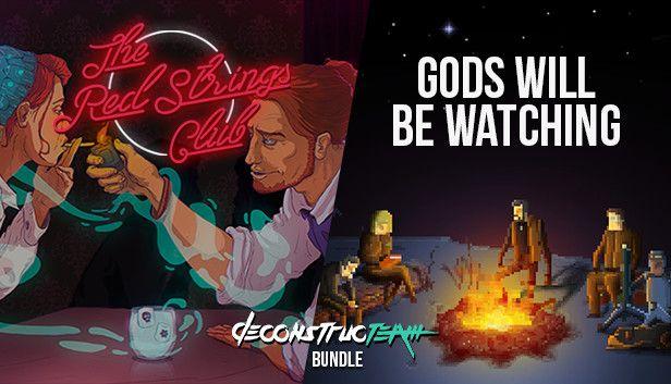 Deconstructeam Bundle - The Red Strings Club et Gods Will Be Watching sur PC (Dématérialisés)