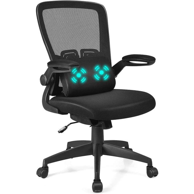 Chaise bureau Costway avec support lombaire massant