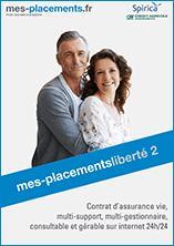 [Nouveaux clients Spirica] 150 € à 200 € offerts pour l'adhésion à l'Assurance Vie Liberté 2 (25% d'unit. non garanties) - mes-placements.fr