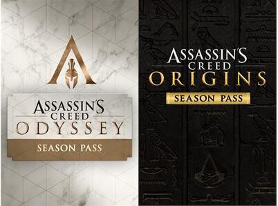 Assassin's Creed Origins Season Pass à 6,18€ et Odyssey Season Pass à 7,81€ sur Xbox One (Dématérialisés - Microsoft Store BR)
