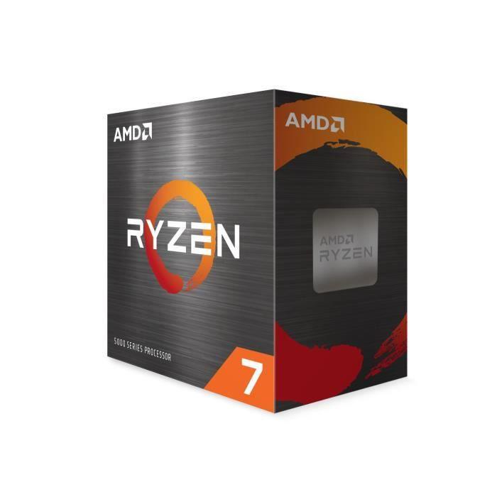 Processeur AMD Ryzen 7 5800X (3.8 / 4.7 GHz) + 23.60€ à cagnotter pour les CDAV