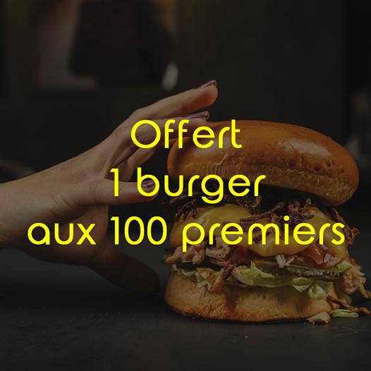 Un burger Premium offert pour l'ouverture d'un restaurant (380 premiers clients, via inscription) - Burger Bleu Haute-Goulaine (44)