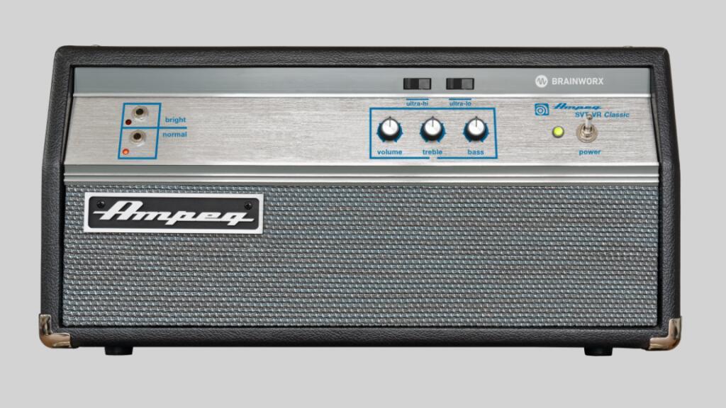Plugin Ampeg SVT-VR Classic gratuit sur PC & Mac (Dématérialisé - AU / AAX / VST - plugin-alliance.com)