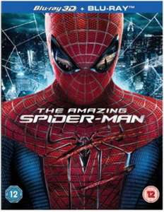 Blu-ray + 3D : The Amazing Spider-Man (VO)