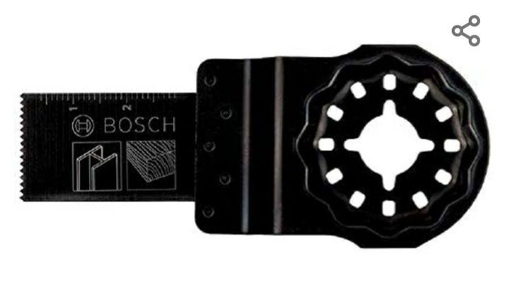 Lame plongeante pour outil Multi-fonctions Bosch Starlock 2607017346 - Bois et métal