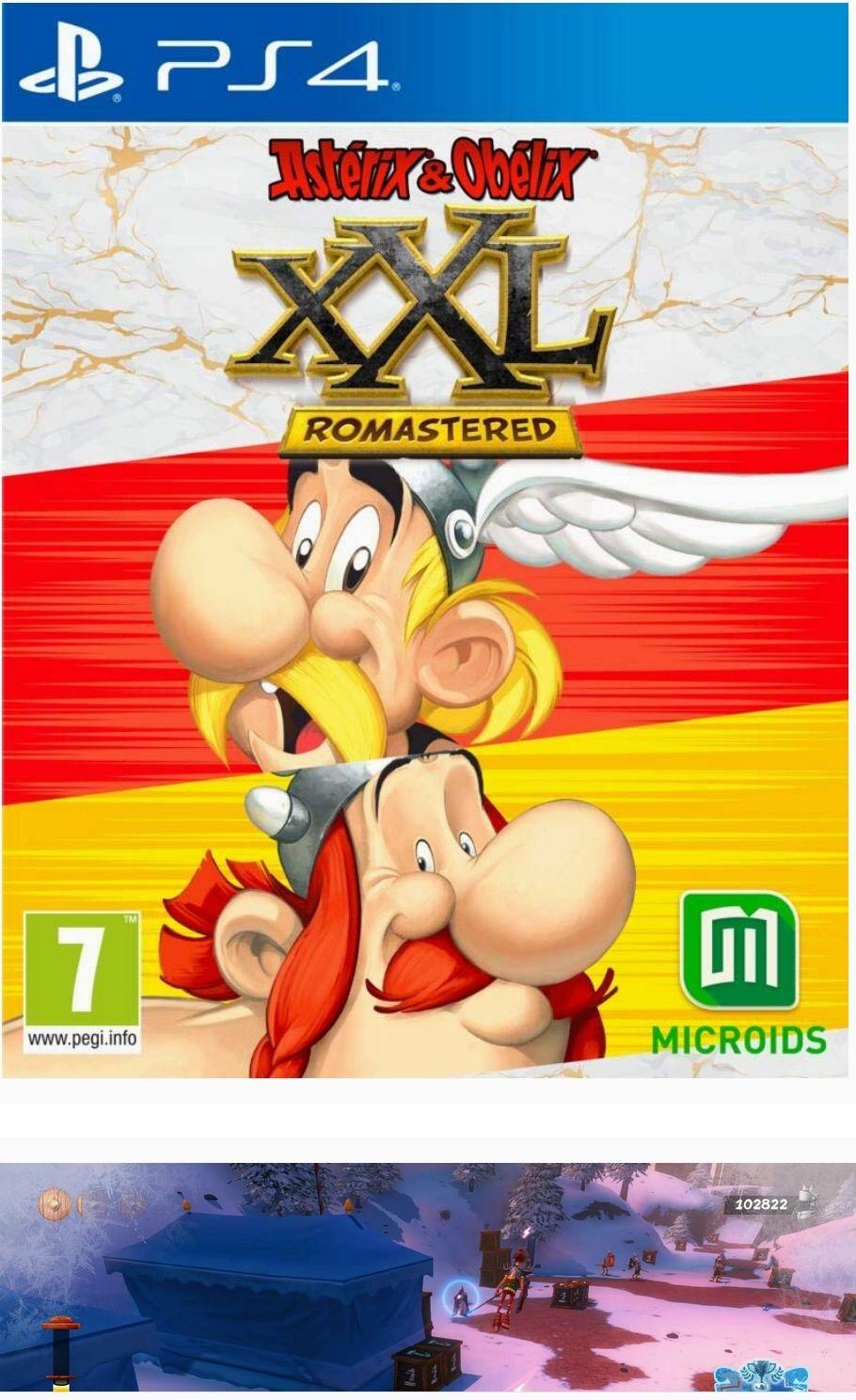 Jeu Asterix & Obelix XXL Romastered sur PS4
