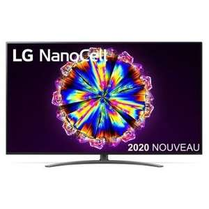 "TV 65"" LG NanoCell 65NANO86 (2020) - 4K, Dalle 100Hz, HDMI 2.1, Cinema HDR (HDR10 Pro, HLG, Dolby Vision iQ), VRR via FreeSync, Smart TV"