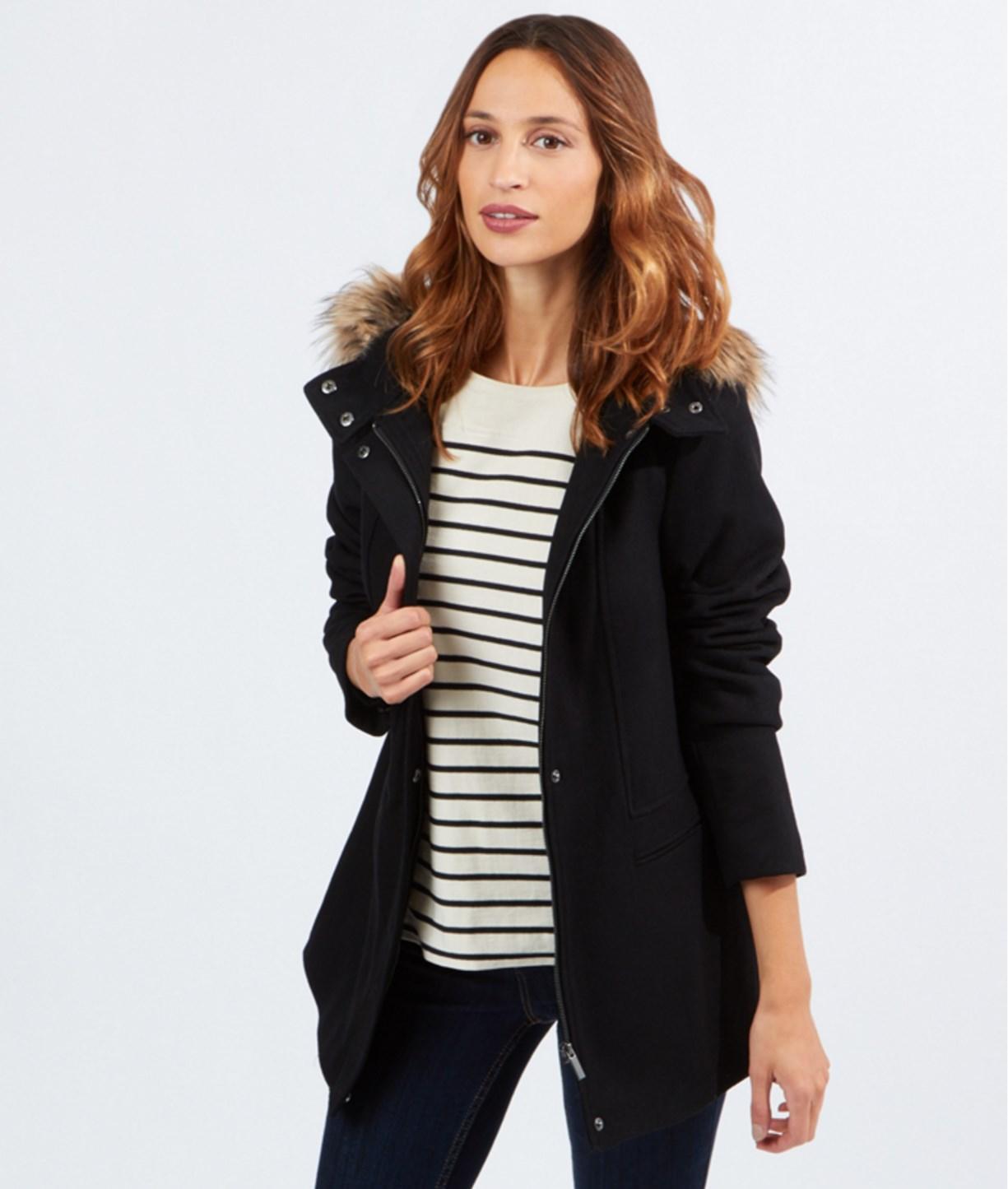 Jusqu'à 50% de réduction sur une sélection d'articles Lovely Week  - Ex : Manteau Femme en laine avec capuche