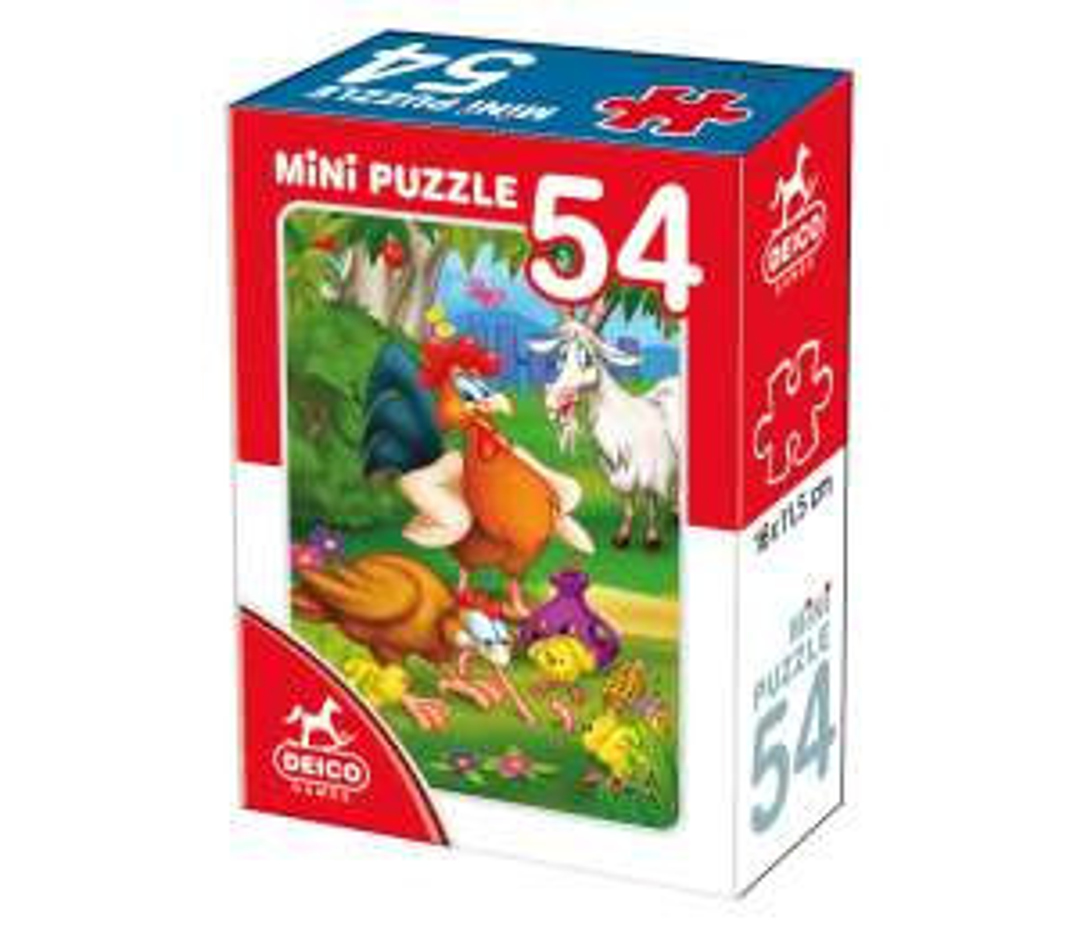 Sélection de Puzzles en promotion - Ex : Mini Puzzle : La quête du repas - 54 pièces