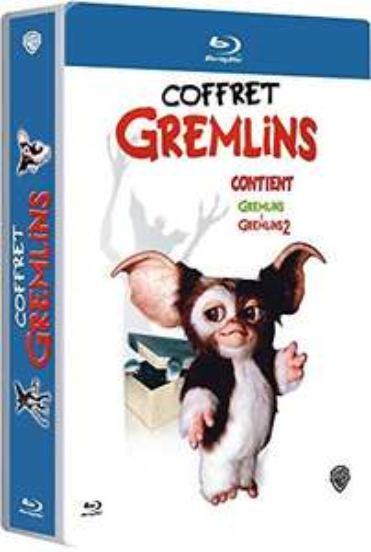 Coffret Blu-Ray: Gremlins + Gremlins 2 - La Nouvelle Génération