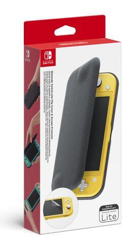 Pochette à rabat + Protection d'écran pour Nintendo Switch Lite (Retrait magasin uniquement)
