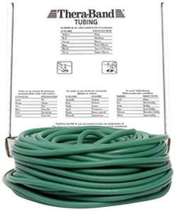 Tube élastique Thera-Band Vert Fort - 30.5 m