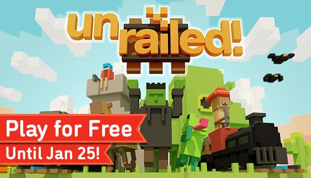 Jeu Unrailed! jouable gratuitement sur PC, Mac & Linux (Dématérialisé)