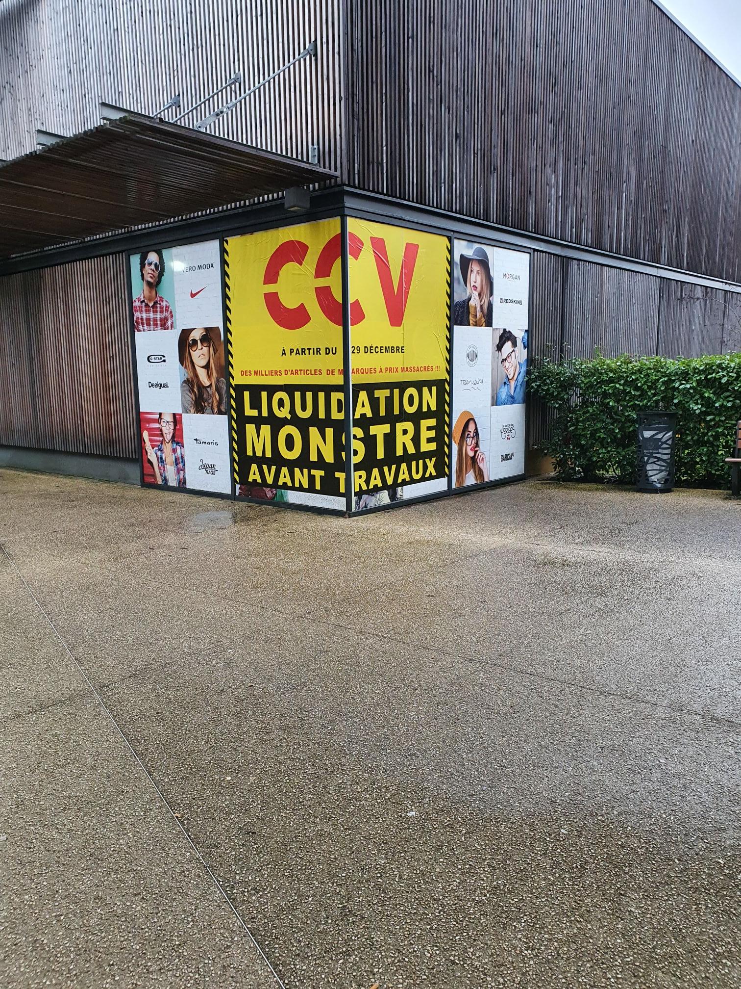 Liquidation totale avant travaux - C.C.V. Thionville (57)