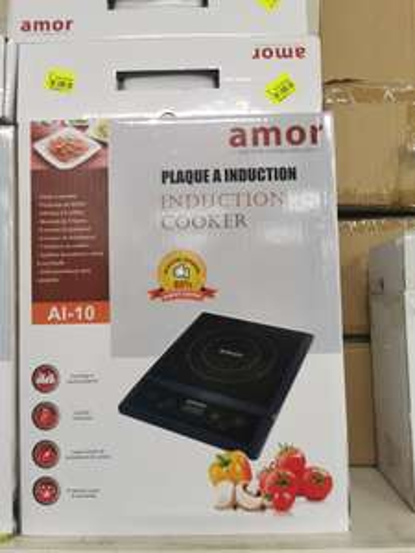 Plaque à induction Amor AI-10 - 2000W - Châlette-sur-Loing (45)