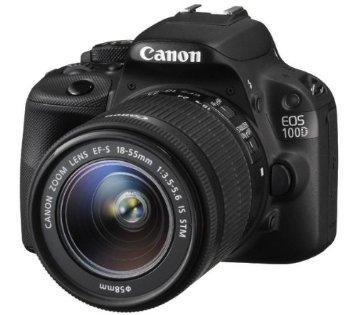 Reflex CANON EOS 100D + Objectif 18-55 IS STM