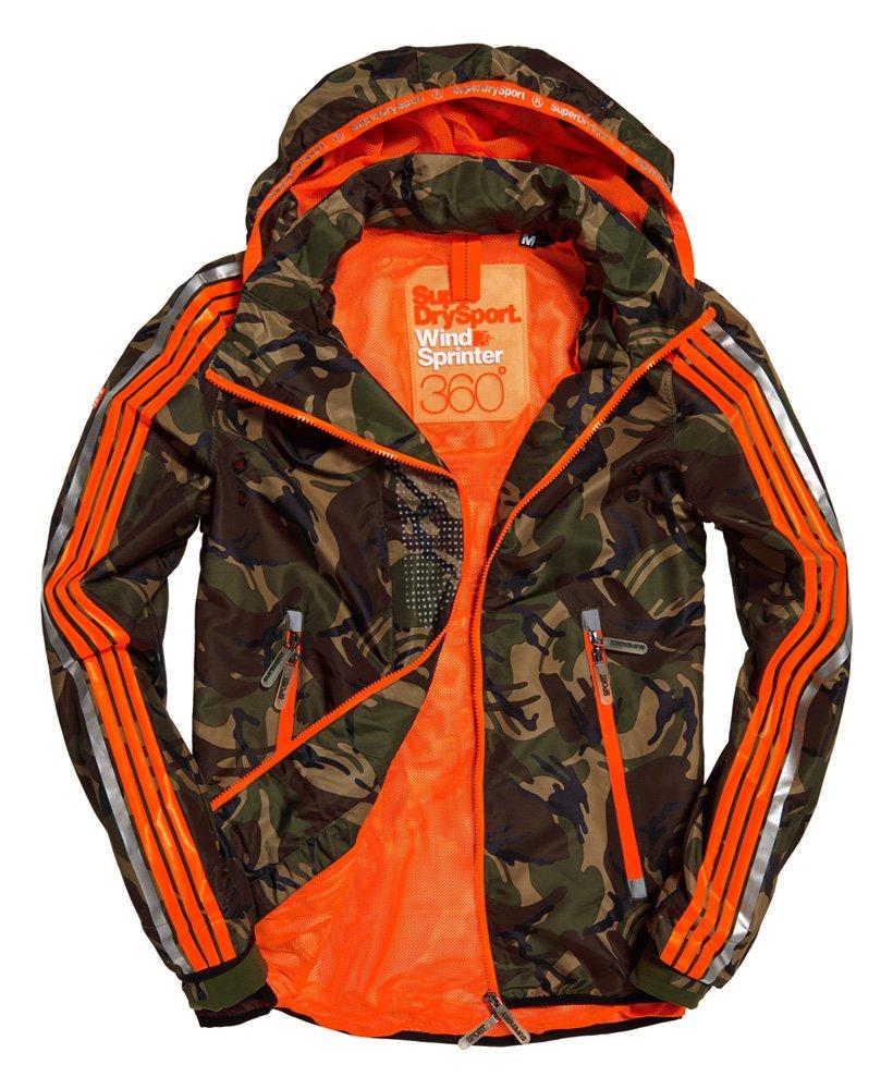 Sélection d'articles en promotion - Ex : Veste Camouflage Sprint Attacker pour Homme - Tailles du S au XXL