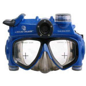 Masque de plongée Liquid image Scuba 318 Caméra embarquée