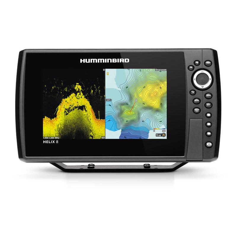 Sélection d'articles en promotion - Ex : combiné sondeur GPS Humminbird Helix 8G3N GPS Chirp MDI+