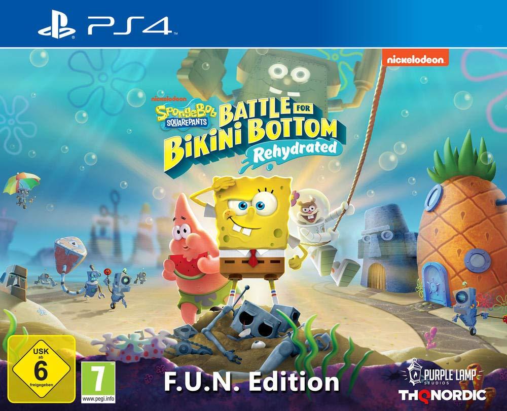 Spongebob Squarepants: Battle For Bikini Bottom Rehydrated - F.U.N Edition sur PS4